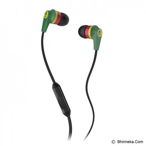 SKULLCANDY Ink'D 2.0 In-Ear w/Mic 1 [S2IKDY-102] - Rasta - Earphone Ear Monitor / Iem